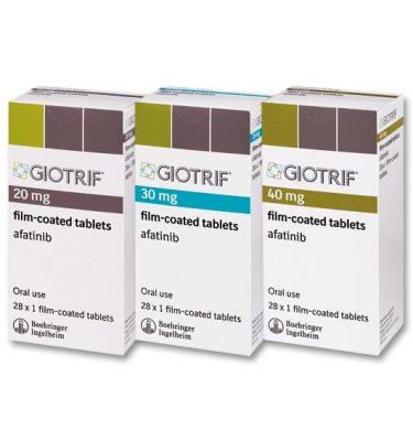 Thuốc GIOTRIF 40mg Thuốc Afatinib 40mg Thuốc GIOTRIF 30mg Thuốc Afatinib 30mg Thuốc GIOTRIF 20mg Thuốc Afatinib 20mg