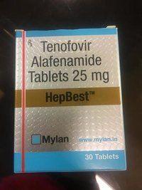 Thuốc Hepbest 25mg Thuốc Tenofovir Alafenamide 250mg