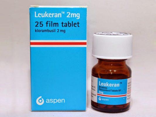 Thuốc Leukeran 2mg Thuốc Chlorambucil 2mg Thuốc klorambucil 2mg