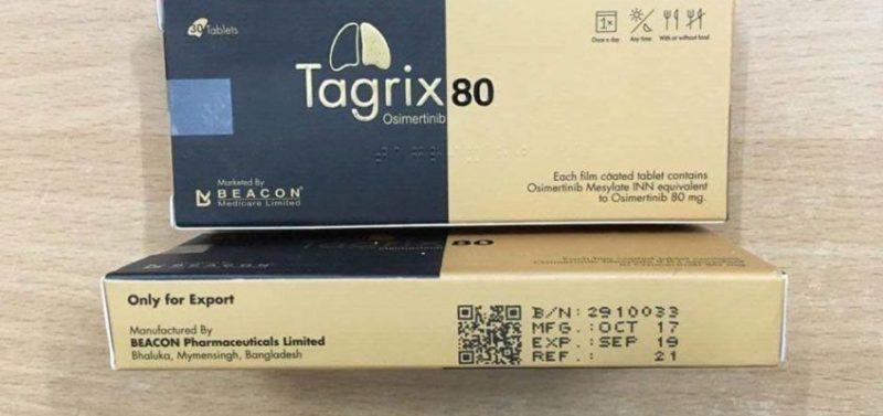 Thuốc Tagrix 80 Thuốc Osimertinib 80mg
