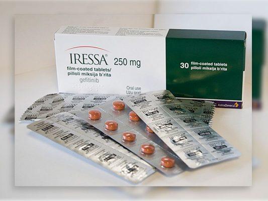 Thuốc Iressa 250mg Thuốc gefitinib 250mg