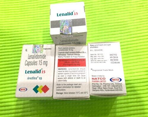 Thuốc LENALID 10 Thuốc lenalidomide 10mg Thuốc LENALID 15 Thuốc lenalidomide 15mg Thuốc LENALID 25 Thuốc lenalidomide 25mg