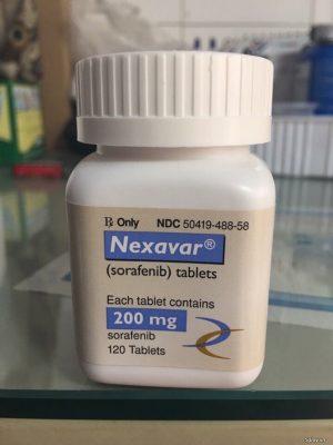 Thuốc Nexavar 200mg Thuốc Sorafenib 200mg