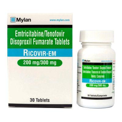 Thuốc Ricovir-EM Thuốc Emtricitabine 200mg Thuốc Ricovir EM