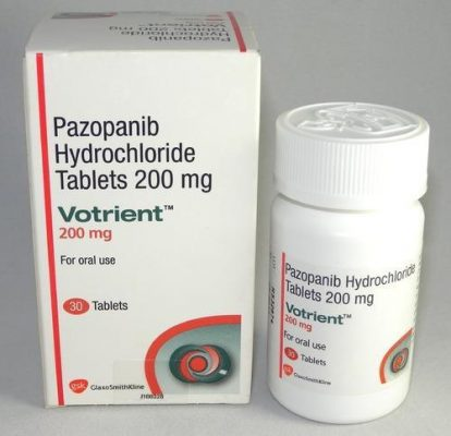 Thuốc Votrient 200mg Thuốc pazopanib 200mg Thuốc Votrient 400mg Thuốc pazopanib 400mg