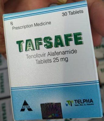 Thuốc Tenofovir alafenamide 25mg - Thuốc Tafsafe 25mg