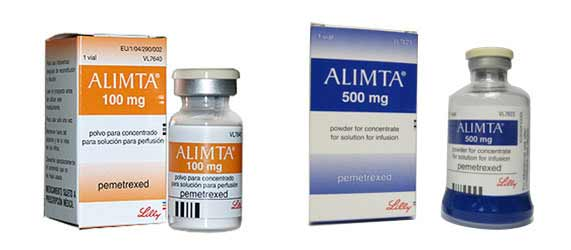 Thuốc Alimta 100mg - Thuốc Alimta 500mg - Thuốc Pemetrexed