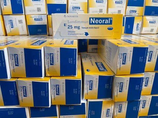 Thuốc Neoral mua ở đâu, Thuốc Neoral giá bao nhiêu