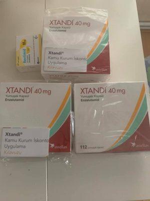Thuốc Xtandi 40mg mua ở đâu, Thuốc Xtandi 40mg giá bao nhiêu