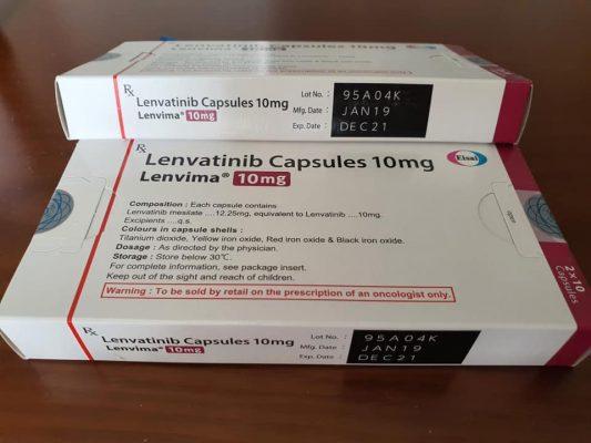 Thuốc Lenvima 10mg mua ở đâu