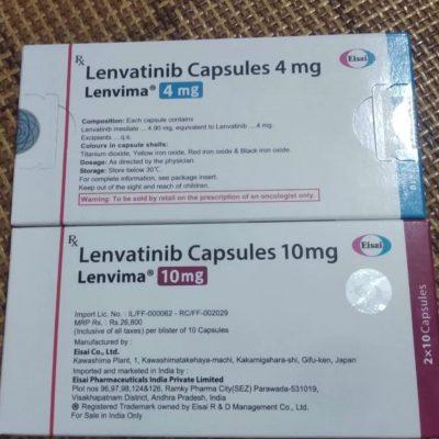 Thuốc Lenvima 10mg giá bao nhiêu