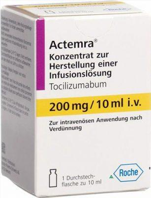 Thuốc Actemra Thuốc Tocilizumab200mg