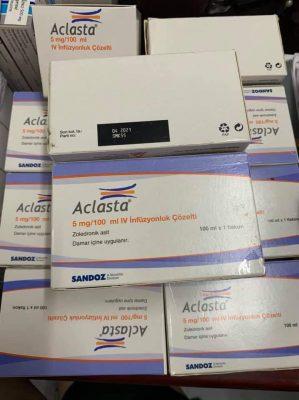 Thuốc Aclasta mua bán giá rẻ acid zoledronic Thuốc Aclasta mua ở đâu, Thuốc Aclasta giá bao nhiêu
