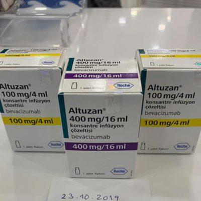 Thuốc Altuzan 100mg/4ml Thuốc Altuzan 400mg/16ml - Thuốc Bevacizumab 100mg/4ml Thuốc Bevacizumab 400mg/16ml Thuốc Altuzan mua ở đâu, Thuốc Altuzan giá bao nhiêu